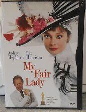 My Fair Lady (DVD, 1998) RARE 1964 AUDREY HEPBURN MUSICAL BRAND NEW SNAPCASE