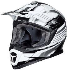 Gloss Fibreglass Off Road Motorcycle Helmets