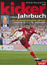 Kicker Fussball Jahrbuch 2016 - Illustrated German Bundesliga Football Yearbook