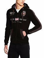 Geographical Norway Gastaldo MEN, Felpa Uomo, Nero (Black), Medium (t5a)