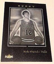 KIRK HINRICH 2003-04 Fleer AVANT BLACK Rookie SP Card #71 Ser #d /199 Rare BULLS