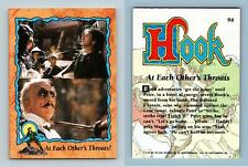 At Each Other's Throats #94 Hook 1991 Topps Trading Card