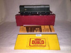 Hornby Dublo 2 Rail 2230 BO-BO Diesel Electric Loco VG Boxed Serviced