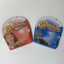 NEW Tiny Wubble Bubble Ball inflatable (Lot of 2) Red Rox Boing Blue