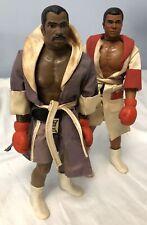 Mego 1975 Muhammad Ali & Opponent Boxing Action Figures Vtg Muhammid Ken Norton