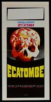 Plakat Hekatombe Zombie Romero Stadt Wird Zerstört All'Alba L110