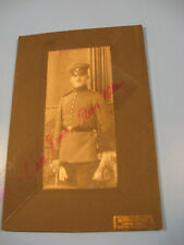 Soldat 1895-1910 Kabinett,CDV Foto.Atelier Gunkel,Leipzig-Antique photo