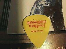 David Bowie Gerry Leonard Heathen Tour guitar pick