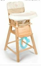 REAR LEFT Leg - Eddie Bauer Wood High Chair- Replacement  Part Only
