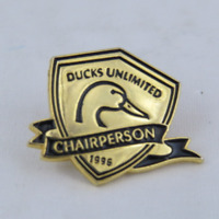 Vintage Ducks Unlimited PIn - 1996  Chair Person - Metal Pin