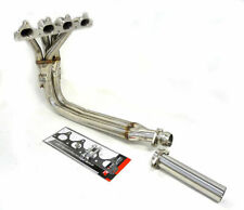 OBX Stainless 4-2-1 Header For 1990-1991 Honda Prelude Tri-Y w/Slip joint (3pcs)