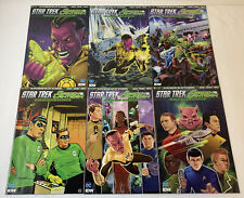 STAR TREK GREEN LANTERN STRANGER WORLDS comics #1 2 3 4 5 6 ~ FULL SET