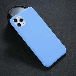 Genuine Soft Silicone Case Cover for Apple iPhone 11 12 13 Pro Max X XS 7 8 Plus