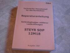 Steyr 12M18 12 M 18 Bundesheer Dienstbehelf Reparaturanleitung
