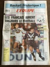 Journal l'Equipe - 5 Decembre 1990 - 45 eme année - n 13867