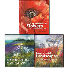 Ann Blockley Collection 3 Books Set Watercolour Workshop projects and interpret