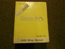 2005 HYUNDAI Sanata Fe Service Repair Manual FACTORY OEM BOOK 05 VOL 1 Hyundai