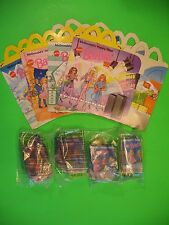 1996 McDonalds - Barbie set of 4 *MIP* with 4 Boxes *International* *UK*