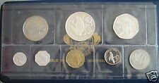 SEYCHELLES 8 Coins 1976 Proof Set w/2 Silver KM PS5