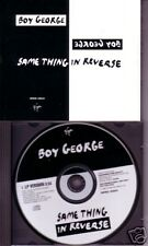 Culture Club Boy George Same thing PROMO DJ CD Single in Reverse USA MINT 1995