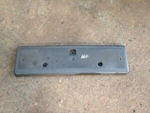 Jeep Grand Cherokee 2007 Front Numberplate Carrier