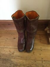 Frye Tan Ladies  Leather Boots Size 5 uk