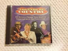 CD - Legends of Country - 18 Songs From the Great Gentlemen Of Country