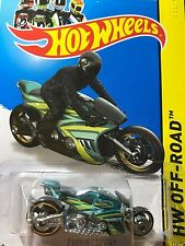 Hot Wheels  Canyon Carver  Green/yellow   MOMC