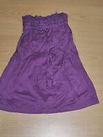 LES PETITES Fille 12 ans superbe jupe violette en coton skirt falda rock