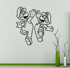 Video Game Super Mario Wall Vinyl Decal Vinyl Stickers Superhero Home Interior 2