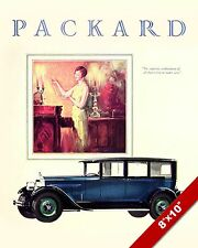 PACKARD MOTORS 1926 CLASSIC AMERICAN MADE CARS PAINTING VINTAGE CAR AD ART PRINT