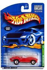 2001 Hot Wheels Treasure Hunt #01 '65 Corvette