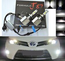 LED Kit S 100W 9003 HB2 H4 6000K White Headlight Plug Play Upgrade Lamp Fan Cool