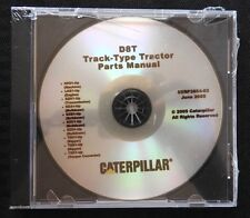 CATERPILLAR D8 D8T TRACK TYPE TRACTOR PARTS CATALOG MANUAL CD SERP 3654-03 mint