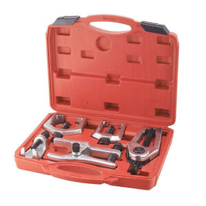 5 pcs Front End Service Tool Kit Ball Joint Tie Rod Set Pitman Arm Puller Remove