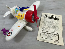The Real Ghostbusters ECTO-BOMBER Plane 100% COMPLETE + Instructions Kenner