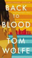 """BACK TO BLOOD:- TOM WOLFE (PAPERBACK)  """"BRAND NEW"""""""