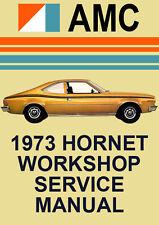 AMC HORNET 1973 WORKSHOP MANUAL