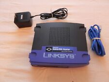 Linksys Etherfast Cable/Dsl Router with 4-Port Switch Befsr41