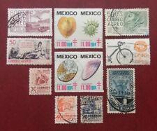 Mexico Latin America Postally Used Seashells Airmail Export Bycicles 1166
