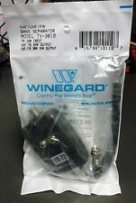 Winegard TV-3019 VHF UHF FM Band Separator, 75 Ohm In, 75 / 300 Ohm Out