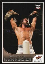 2016 Topps Wwe Road to Wrestlemania Trading Card,#77 Seth Rollins