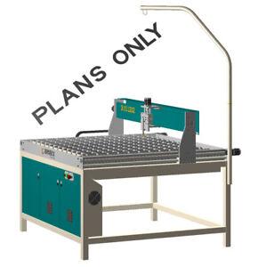 CNC Plasma Cutting Table 4'x4' 1250x1250 DIY Plans