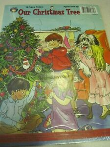 Puzzle OUR CHRISTMAS TREE 13 Piece Ages 3 and up Sealed