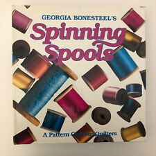 Spinning Spools Pattern Club Quilters Binder 1990 with Patterns