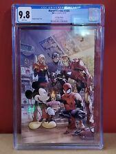 "Marvel Comics #1000 CGC 9.8 D23 Expo Edition ""Virgin"" cover Disney Mickey Mouse"