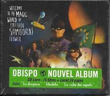 CD/LIVRE PASCAL OBISPO CAPTAIN SAMOURAI FLOWER 15T WELCOME THE MAGIC ...NEUF SCE