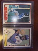 1982 Donruss (Lot of 2) Lee Smith ROOKIE Baseball Cards NM-MT