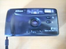 Appareil photo compact argentique Nikon AF 220 Complet avec étui + notice