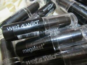 Wet n Wild Fantasy Makers Megalast Lipstick SEALED Black or Gold Choice